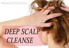 natural haircare DIY for healthy scalp and beautiful hair