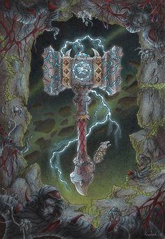 Legion artifact: Doomhammer by Evildarling
