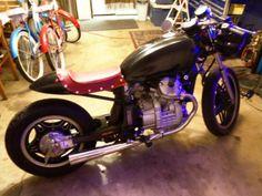 Buy honda cafe street fighter custom gl 500 silverwing on 2040motos