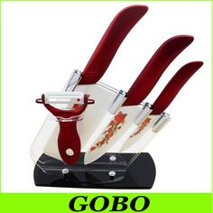 "Find More Kitchen Knives Information about Home Tools Kitchen Knives Zirconia Cutlery Ceramic Knife Set Chinese Chef Knife 4"" 6"" Fruit Free Shipping,High Quality ceramic folding knife,China ceramic knife switch Suppliers, Cheap ceramic carving knife from Guobao Craft Ceramics Co,.Ltd. on Aliexpress.com"