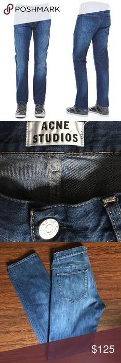 Acne Studios Roc Verakai Jeans Acne Studios Roc Verakai Jeans. 100% cotton. 34 inch inseam. Acne Jeans Straight