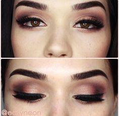 Kendall Jenner inspired makeup #eyeliner #eyeshadow