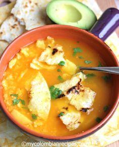 Recetas de Comida Colombiana Corn Cake Soup
