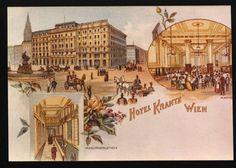 Hotel Krantz opening 1898 - Hotel Ambassador, Vienna, Austria | by Hotel Ambassador in Wien, Austria