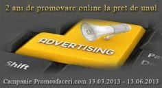 Publicitate online pentru evenimente, publicare comunicate de presa si articole - o campanie Promoafaceri