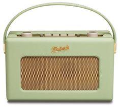 ROBERTS Revival RD60 Portable DAB Radio - Leaf