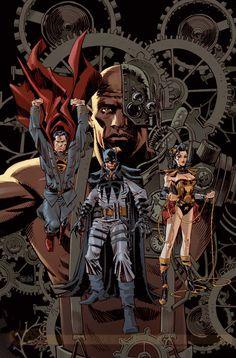 Capas-steampunk | Galeria | Omelete Justice League