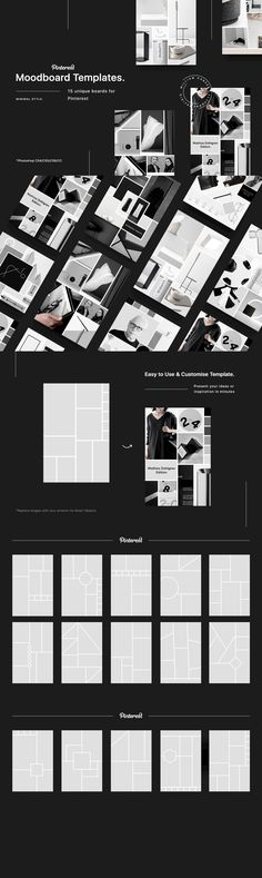 20 New ideas for fashion design portfolio mood boards layout Travel Book Layout, Stefan Sagmeister, Fashion Design Portfolio, Typography Love, Stock Art, Presentation Templates, Mood Boards, Style Guides, Graphic Design