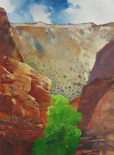 Bandelier, painting by artist Randall David Tipton