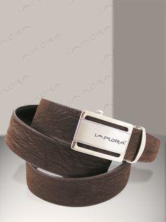 Implora Brown Shark Skin Belt 1.5W