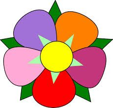 cartoon flowers clip art simple flower clip art vector clip art rh pinterest com flower clip art free download flower clip art free black and white