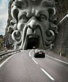 Tunnel in Italy