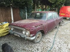 Tired looking Mk3 Ford Zodiac