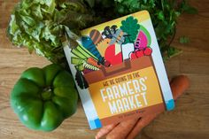 We're Going to the Farmers' Market Baby Books, Treasure Island, Farmers Market, Book Review, Raising, Childrens Books, Good Books, This Book, Parenting