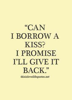 Borrow Kiss