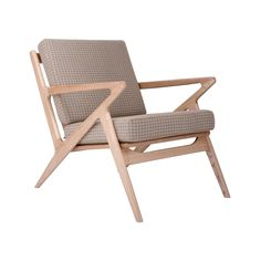 Feel like getting some Zs? Or maybe just taking a break from a long, hard day? This zig-zagging chair is the epitome of style and sophistication. A perfect place to have a seat.  Find the Z Space Chair, as seen in the A Few of Our Favorite Things Collection at http://dotandbo.com/collections/a-few-of-our-favorite-things?utm_source=pinterest&utm_medium=organic&db_sku=103002