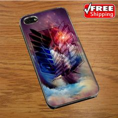 attack on titan art IPHONE 4 | 4S COVER CASE