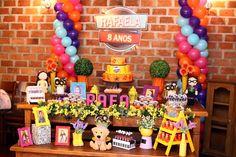 Feltrolândia : Decoração Festa Infantil - Cúmplices de um Resgate