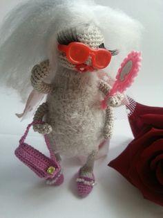 Муха негорюха)) #Housefly #crochet  #amiguru #handmade #withlove