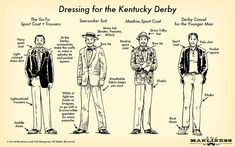 Kentucky Derby Mens Outfit Idea how men should dress for the kentucky derb a visual guide Kentucky Derby Mens Outfit. Here is Kentucky Derby Mens Outfit Idea for you. Kentucky Derby Mens Outfit vineyard vines guide to the kentucky der. Kentucky Derby Fashion, Kentucky Derby Mens Attire, Derby Attire, College Guys, Derby Dress, Art Of Manliness, My Old Kentucky Home, Derby Day, Style Guides