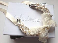 Wedding horseshoe by Atelier Rousseau www.atelier-rousseau.com