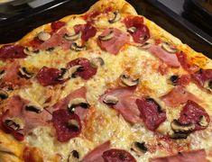 Rezept für Pizzateig, Pizzateig luftig, Pizzateig Thermomix, Pizza Dom, Rezpt Pizzateig Blech pancake pancake pancake chip pancake pancake pancake easy from scratch healthy photography recipe rezept Thermomix Pizza Dough, Best Pizza Dough, Good Pizza, Pizza Hut, Pizza Recipes, Mexican Food Recipes, Pizza Legal, Best Pancake Recipe, Pizza Casserole