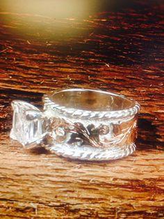 Western wedding ring Fanning Jewelry