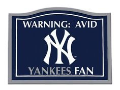 Perfect for the wall of any Yankees fan.