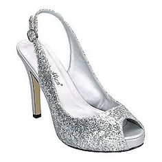 Ladies Womens Silver Diamantes Sparkly Glitter Shimmer Bridemaids ...