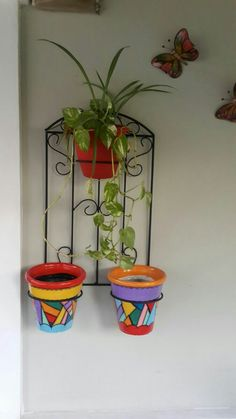 Garden Deco, Garden Art, Welding Projects, Projects To Try, Le Hangar, Small Balcony Decor, Diy Wedding Backdrop, Iron Plant, Flower Stands