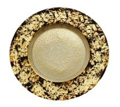 Item # A80831 Leopard Brown and Gold 13 inch Platter/charger : Price $35.99 each