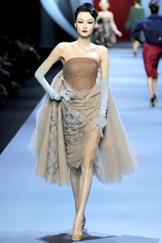 Christian Dior, Spring 2011 Couture. Modelled by Lee Hye Jung.