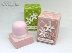 Kleine Geschenk Box Florale Eleganz – Tina's Kreativbox