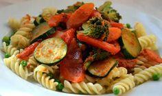 Tagliatelles avec légumes et lardons cookeo, voila une recette très facile pour votre plat de dîner faite avec le cookeo, bon appetit.