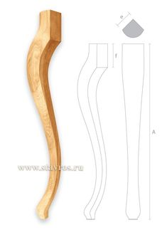 гнутая ножка для стола бук Real pretty shapely curvy probably Queen Ann leg.to duplicate a template f/.f/ clear acrylic table legs Wood Furniture Legs, Shaker Furniture, Furniture Styles, Home Decor Furniture, Furniture Plans, Furniture Design, Woodworking Projects Plans, Diy Woodworking, Sofa Frame