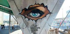 Eye Graffiti Art by Leza One '13