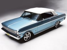 1963 Chevy Nova Convertible SS - It's All About the Options