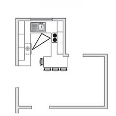 kitchen plan - scale drawing 1.20 | scale drawings | pinterest
