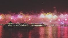 What an incredible end to 2015! •••••••••••••••••••••••••••••••••••• Watched Rio de Janeiro's Copacabana Beach fireworks from the deck of @CrystalCruises  Happy New Year everyone! •••••••••••••••••••••••••••••••••••• #Copacabana #CrystalSymphony #Rio #Brazil #NYE #2016