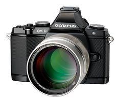 Olympus camera range: OMD EM5