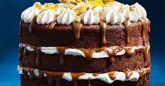 If you want to bake a decadent sticky date cake, look no further. And it has a divine caramel sauce too!