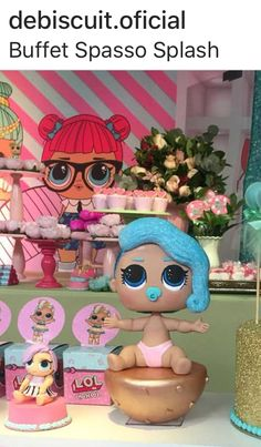 LOL Lol Dolls, Polymer Clay Crafts, Crafting, Decorations, Treats, Cakes, Decorating Cakes, Baby Dolls, Ideas
