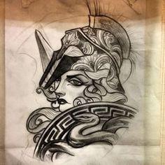 athena tattoo - Google Search