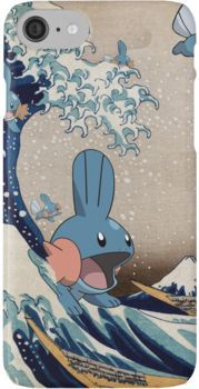 Mudkip Wave iPhone 7 Cases
