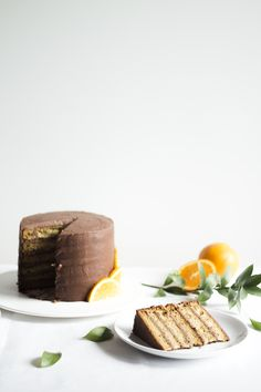 orange chocolate cake_7