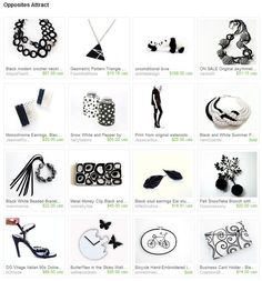 Opposites Attract from http://www.etsy.com/treasury/MTk5NDcyOTl8MjcyMDUyMzMxNw/opposites-attract