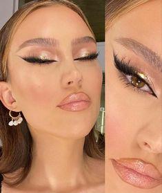 Formal Makeup, Edgy Makeup, Glam Makeup Look, Glamour Makeup, Makeup Eye Looks, Eye Makeup Art, Cute Makeup, Pretty Makeup, Skin Makeup