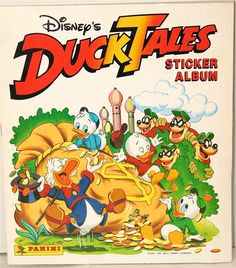 disney panini ducktales sticker book complete ebay