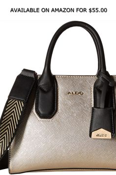 69355f249c65 ALDO Womens Prayma ◇ AVAILABLE ON AMAZON FOR   55.00 ◇ The ALDO™ Prayma bag  will give your look a flawless finish.Made of polyurethane. Zipper closure.
