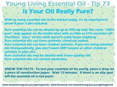 Don't be fooled, take it from me Young Living Essential Oils are the real deal!